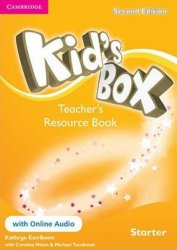 Kid´s Box Starter Teacher´s Resource Book + Online Audio, 2nd edition