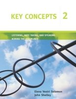 Key Concepts 2: Listening, Note Taking and Speaking Across the Disciplines