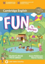 Fun for Starters Student's Book with Audio with Online Activities, 3E