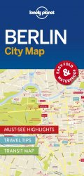 Lonely Planet Berlin City Map 1.