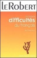 LE ROBERT DICTIONNAIRE DIFFICULTES DU FRANCAIS