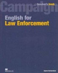 English for Law Enforcement: Teacher´s Book