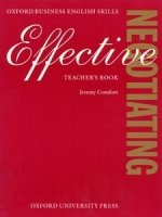 EFFECTIVE NEGOTIATIONS TEACHER´S BOOK