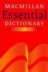 Macmillan Essential Dictionary For Intermediate Learners