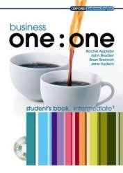 BUSINESS ONE : ONE INTERMEDIATE+ STUDENT´S BOOK + MultiROM PACK