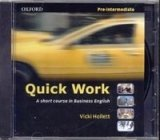 QUICK WORK PRE-INTERMEDIATE CLASS CD