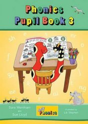 Jolly Phonics Pupil Book 3 : in Precursive Letters