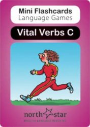 MINI FLASHCARDS LANGUAGE GAMES: Vital Verbs - Card Pack C