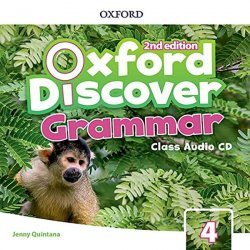 Oxford Discover 4 Grammar Class Audio CD (2nd)