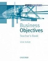 BUSINESS OBJECTIVES INTERNATIONAL EDITION TEACHER´S BOOK