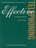 EFFECTIVE TELEPHONING TEACHER´S BOOK