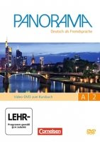Panorama - Deutsch als Fremdsprache, Bd.A2 : Video-DVD, Gesamtband