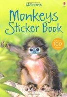 Monkey Sticker Book (Usborne Spotter's Sticker Guides)