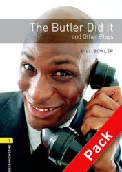 Oxford Bookworms Playscripts New Edition 1 the Buttler Did It and Other Plays with Audio CD Pack