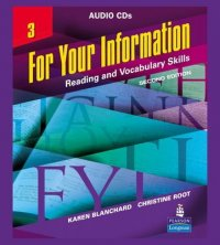 For Your Information 3 - Reading and Vocabulary Skills, Audio CDs 2nd Revised edition