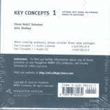 KEY CONCEPTS 1: LISTENING, NOTE TAKING AND SPEAKING ACROSS THE DISCIPLINES AUDIO CD