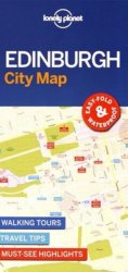 Lonely Planet Edinburgh City Map 1.