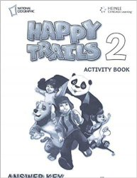 HAPPY TRAILS 2 ACTIVITY BOOK WITH ANSWER KEY