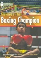 FOOTPRINT READERS LIBRARY Level 1000 - MAKING A THAI BOXING CHAMPION + MultiDVD Pack