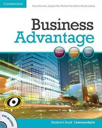 Business Advantage Intermediate Students Book with DVD - Almut Koester