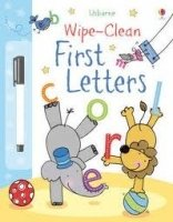 USBORNE WIPE-CLEAN FIRST LETTERS