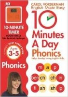 10 Minutes A Day Phonics Key Stage 1 (Ages 3-5)