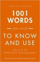 1001 Words You Need To Know Reissue