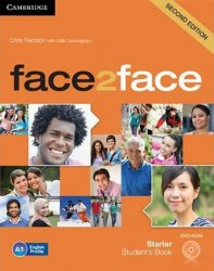 face2face Starter Students Book with DVD-ROM, 2nd - Chris Redston