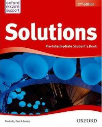Solutions Pre-intermediate Student´s Book 2nd (International Edition) - Paul A. Davies;Tim Falla