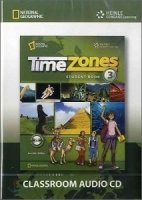 TIME ZONES 3 CLASSROOM AUDIO CD