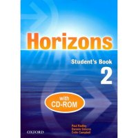 HORIZONS 2 STUDENT´S BOOK + CD-ROM