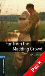 Oxford Bookworms Library 5 Far From the Madding Crowd with Audio Mp3 Pack (New Edition) - Thomas Hardy