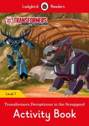 Transformers: Decepticons in t - Activity Book