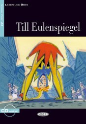 TILL EULENSPIEGEL Buch + CD (Black Cat Readers GER Level 2)