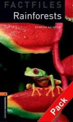 OXFORD BOOKWORMS FACTFILES New Edition 2 RAINFORESTS AUDIO CD PACK