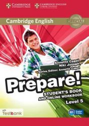 Prepare 5/B1 Student´s Book and Online Workbook with Testbank - Annette Capel