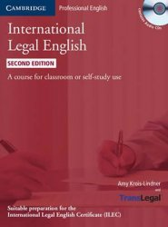 International Legal English Students Book with Audio CDs (3)