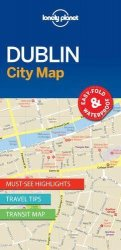 Lonely Planet Dublin City Map 1.