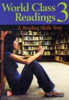 World Class Readings A Reading Skills Series