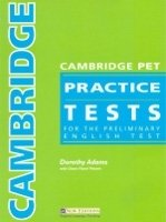 CAMBRIDGE PET PRACTICE TESTS TEACHER´S BOOK