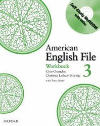 American English File 3 Workbook with CD-ROM Pack