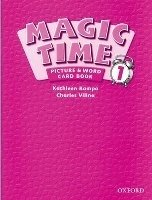 MAGIC TIME 1 PICTURE AND CARDS BOOK