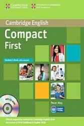 Compact First Student's Book with answers + CD ROM