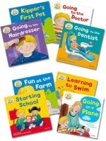 READ WITH BIFF, CHIP & KIPPER FIRST EXPERIENCES PACK OF 8 BOOKS (Oxford Reading Tree)