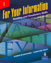 For Your Information: Reading and Vocabulary Skills, DVD (Levels 1 and 2)