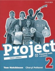 PROJECT the Third Edition 2 WORKBOOK with CD-ROM (SLOVENSKÁ verze) - Tom Hutchinson; Cheryl Pelteret