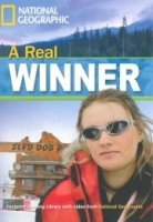 FOOTPRINT READERS LIBRARY Level 1300 - A REAL WINNER + MultiDVD Pack