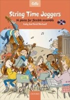 STRING TIME JOGGERS CELLO BOOK with AUDIO CD