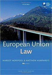 European Union Law 8th Ed.