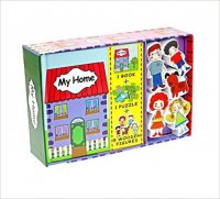 My Home (Book, Wooden Toy & 16-piece Puzzle) - neuveden